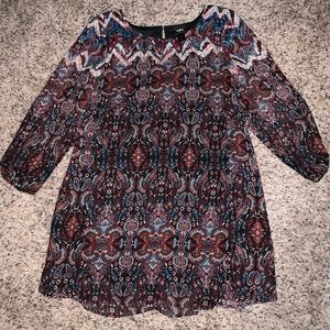 Dresses & Skirts - Daytrip dress, looks great w/cowboy boots sz Lrg